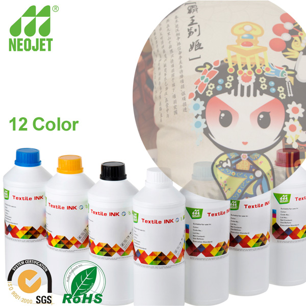 Original quality! Ink factory supply high compatible sublimation ink for cotton fabric paintings