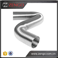 Highly reliable for low and medium pressure systems, SEMI Aluminium Semi Rigid Flexible Duct