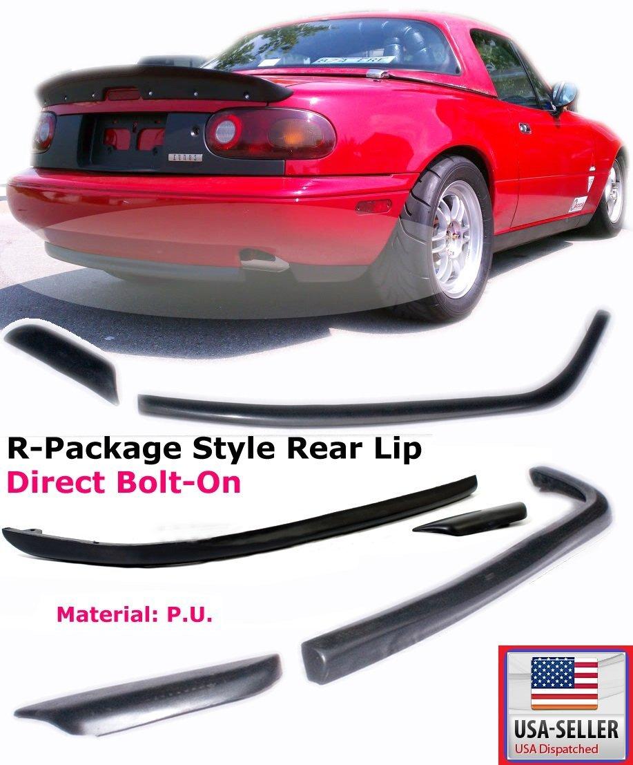 1990-1997 Mazda Miata Rear Bumper Lip Kits Spoiler Mazda MX5 OE STYLE PU