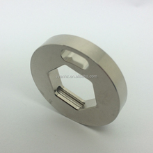 CNC machining plastic wheel spacer round aluminum spacer