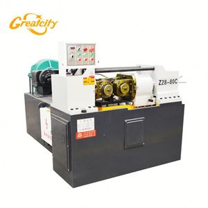 5mm-60mm rebar thread rolling machine , thread making machine with full rollers