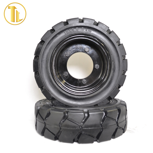 Factory Price industrial solid forklift tires 28x9-15 with wheel