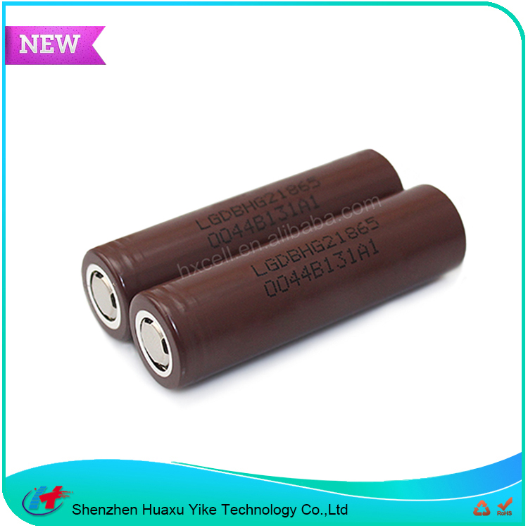 100% Original Brown LGDBHG21865 Power Tools Use Li-Ion 18650 Battery 3.7v 3000mah LG HG2