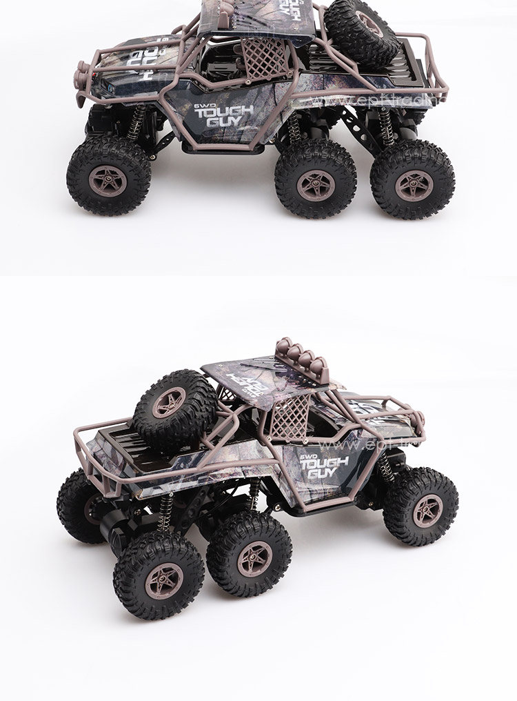 High Quality 1:16 Electric RC Truck Kits Remote Control Toy Car With Light For Child