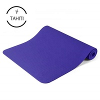 Non Slip Anti Tear Light Weight Reversible TPE Eco Friendly Material for Yoga