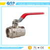 good quality long stem wafer ball valve for water