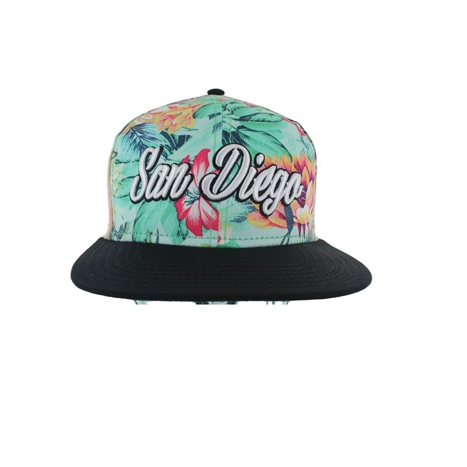 5bf3f35f4b26d1 Get Quotations · Fashion Floral Snapback Hats Collection - The Floral Snapback  Caps