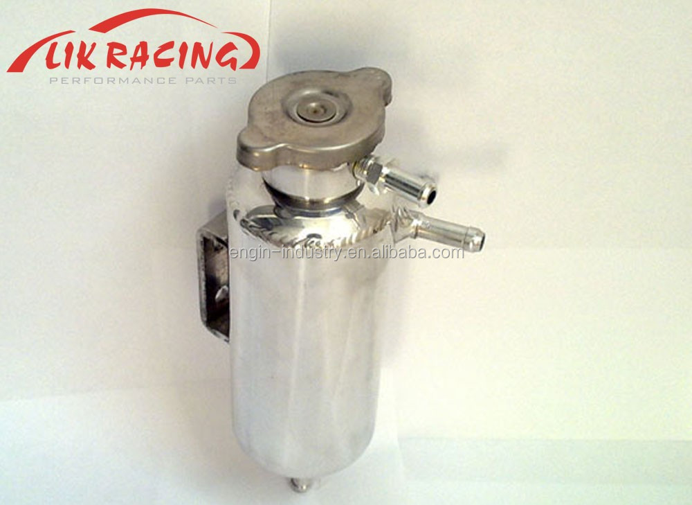 high quality T6061 high quality aluminum breather tank 0.5L mirror polish finish