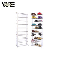 Wholesale Portable Adjustable Amazing Shoe Rack