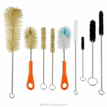 Bottle Brush & Tube Brush Cleaning Set.9pc cleaning brush set
