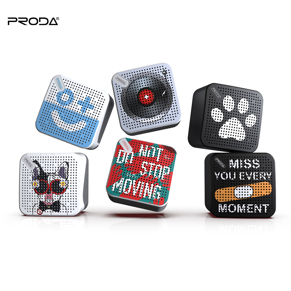 Proda Pattern Customized Portable Small Wireless TWS <strong>Speaker</strong>