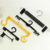 High quality fashion garment accessories different size r plastic hangers hooks