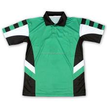 Customised cricket t-shirt polo volledige sublimatie afdrukken team uniform <span class=keywords><strong>kleding</strong></span>