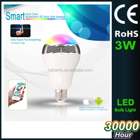 China factory supply 4.0 bluetooth bulb led, 6W smart bluetooth bulb light, smart music playing led bulb light
