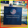 Exhibition popup stand and back drop holder