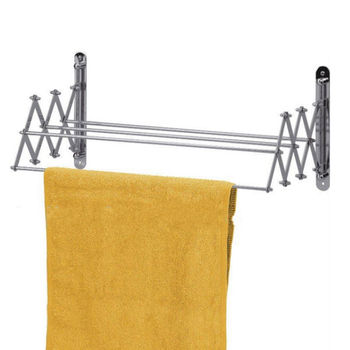 Wall Mounted Stretch Multi Towel Rack