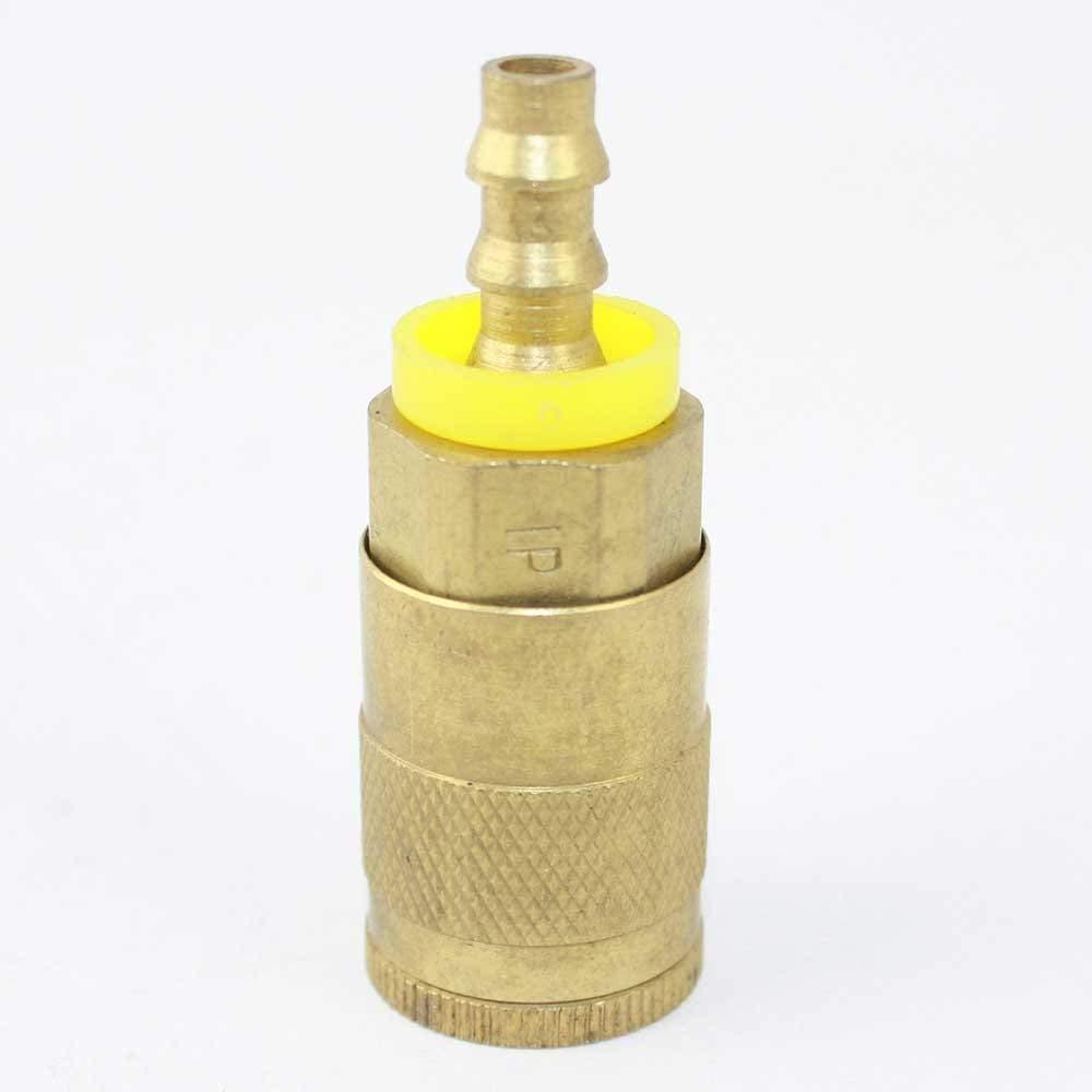 Interstate Pneumatics CA445B 1/4 Inch Automotive Brass Coupler 1/4 Inch Easy-Lock NPT