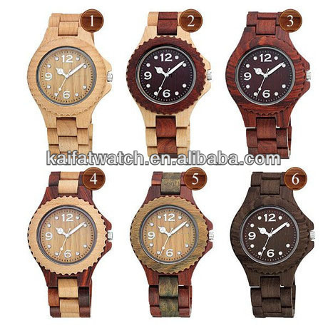 Hot Sale high quality coconut wooden watches 2014