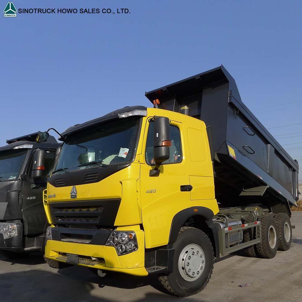 Sinotruk Howo A7 10 Wheelers Mine Mining Coal Transport