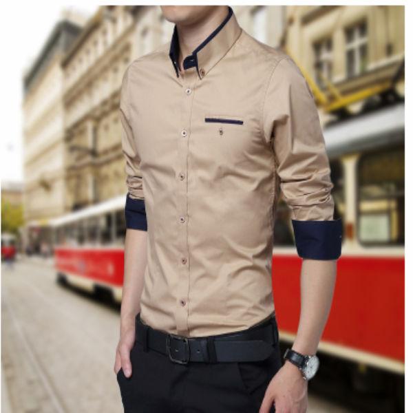 004e115a0d127 2014 de última moda del diseñador de moda camisas para hombres ...