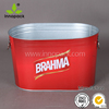 10L custome printing metal ice bucket /wine bucket cooler wholesale