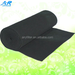 Washable activated carbon air filter paper for car filters