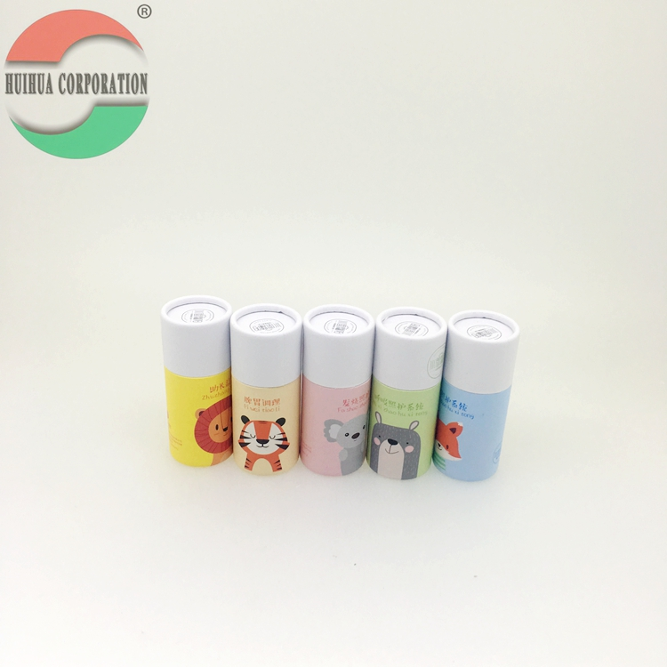 Paperboard Containers Witte Karton Push Up Lippenbalsem Buizen