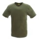 100% Cotton Blank O-neck Army Green Short-sleeve T Shirt