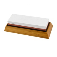High Quality White Corundum Double Size Professional Knife Sharpening Stone 1000/6000 Knife Sharpener