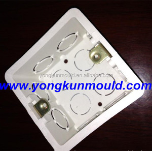 Manufacturing plastic PVC electric fitting molding