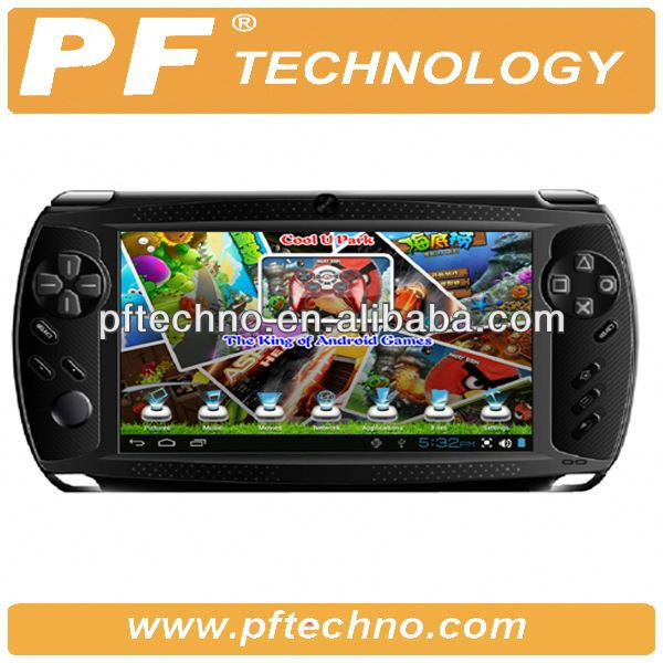 7 polegada Android 4.2 Game Player Tablet PC tactile capacitif Android 4.1 prend en charge jeu multiples emulateurs