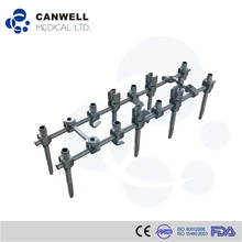 Canwell spine titanium pedicle screws, orthopedic implant names of surgical instruments