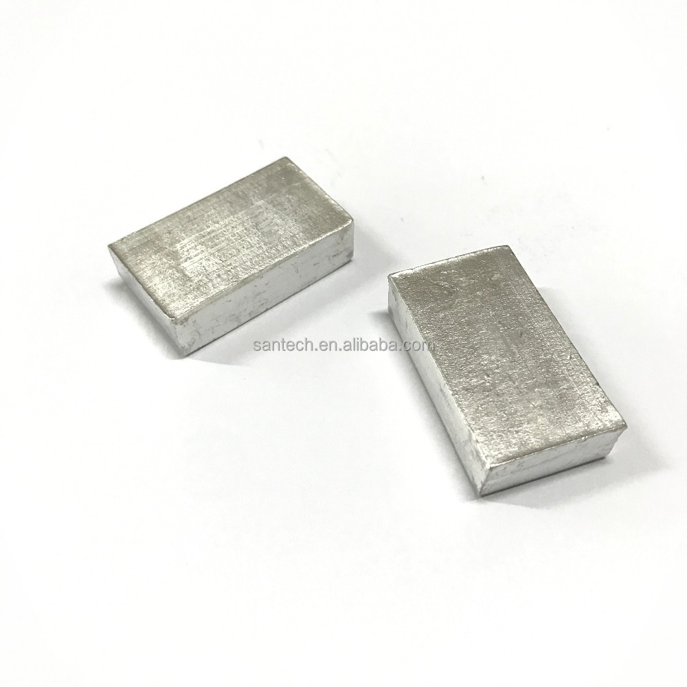 99.99% Customized Size Indium Ingot, Indium foil, Indium Wire For Sale