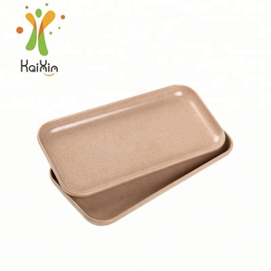 2018 Professional Biodegradable Rounded Corners Plate