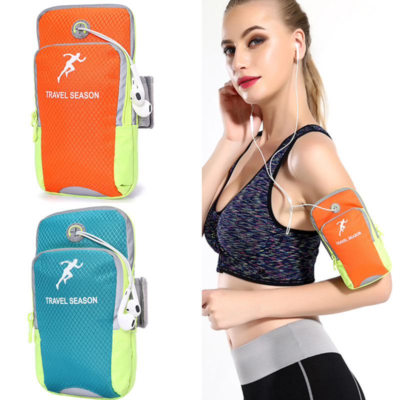 Custom Neoprene Mobile Phone Armband Pouch 4 to 6 Inches Waterproof Running Armband Case