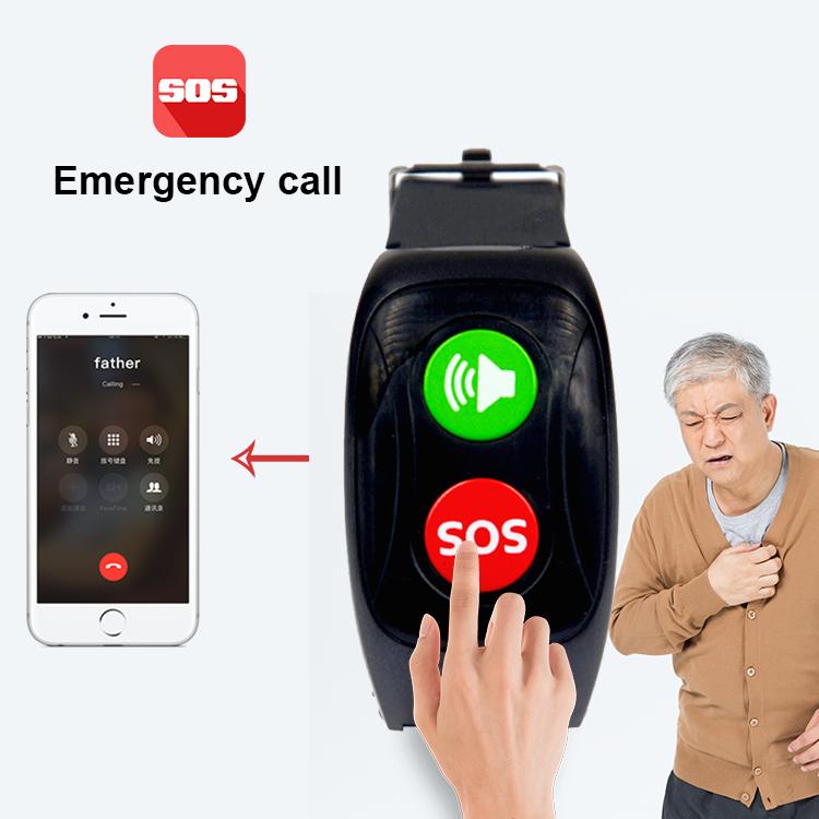 Esim Không Thấm Nước ip67 Mùa Thu Báo Động người cao tuổi gps hồ thông minh 2019 cho bệnh viện dự án