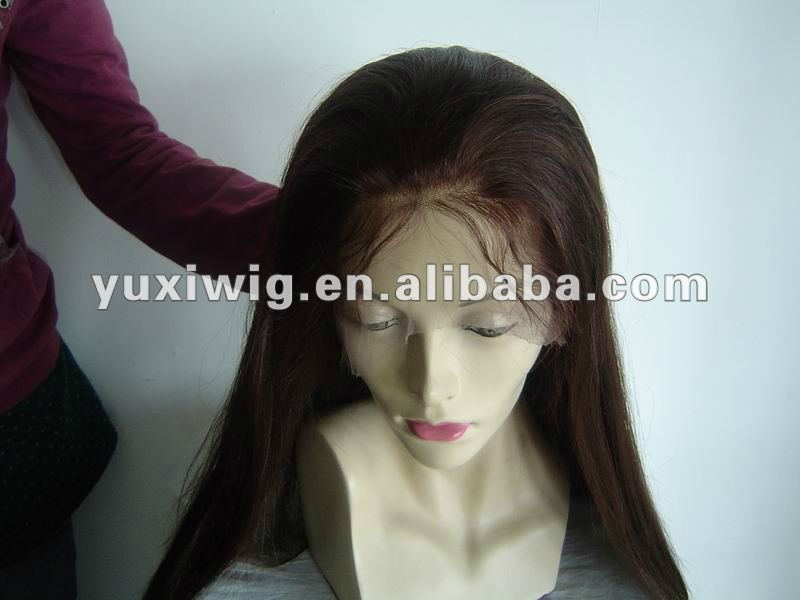top quality malaysian virgin hair full lace wig wholesale