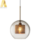 New vintage decorative glass cage pendant light for kitchen