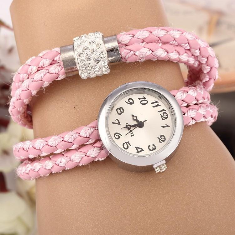 Fashion Hand Watch For Girl Wrist Bracelet Watch Beautiful Fancy ...
