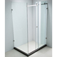 8 mm 10mm sliding glass shower room with CE certificate