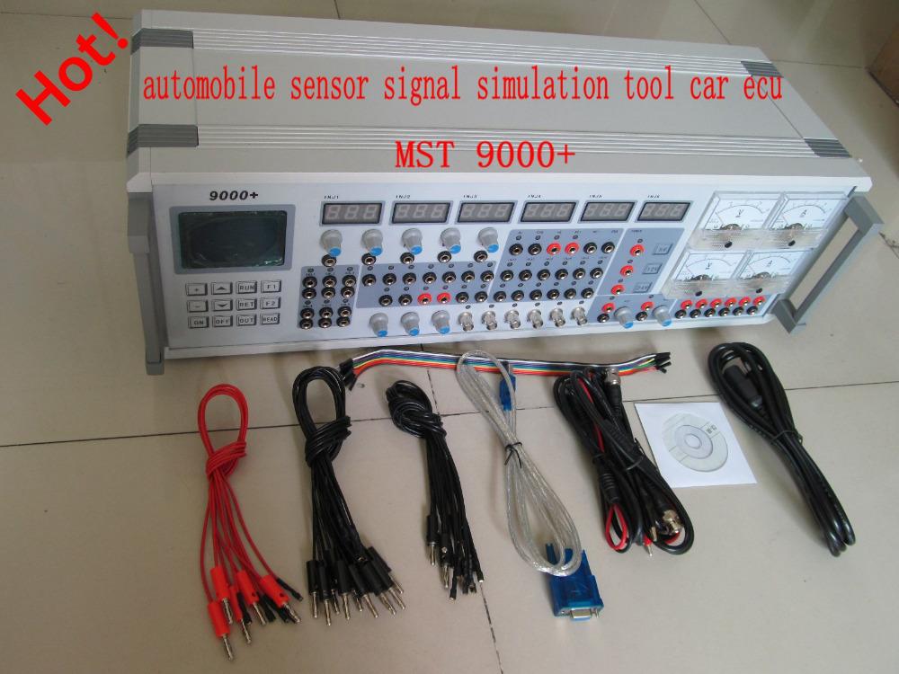 Имитации сигнала датчика автомобиля инструмент MST-9000 + fsupport почти автомобиль экю симулятор тестер mst 9000 + Высокое качество в наличии
