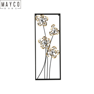 Mayco Home Decor Metal Abstract Art Wall Decoration for Living Room