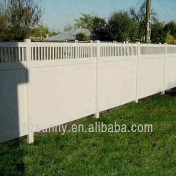 Recinzioni Per Giardino In Pvc.Bianco Pvc Privacy Recinto Per Il Giardino Casa Piscina Yard Uso