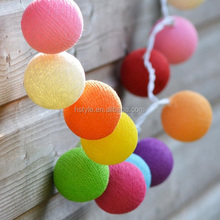 Cotton Ball Light Chain / Cotton Ball String Lights HNL017