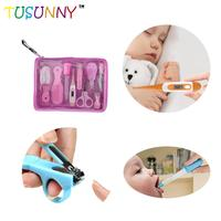 factory price infant safety set comb nail clipper mom and baby healthcare grooming kit