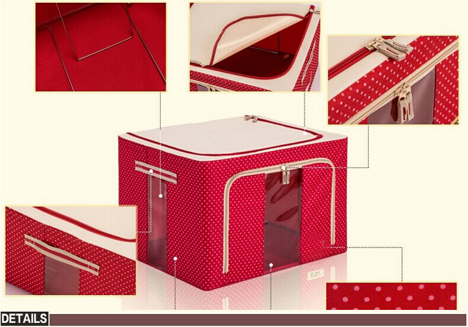 FH-CL0022 modern high quality cheap fabric non woven storage box
