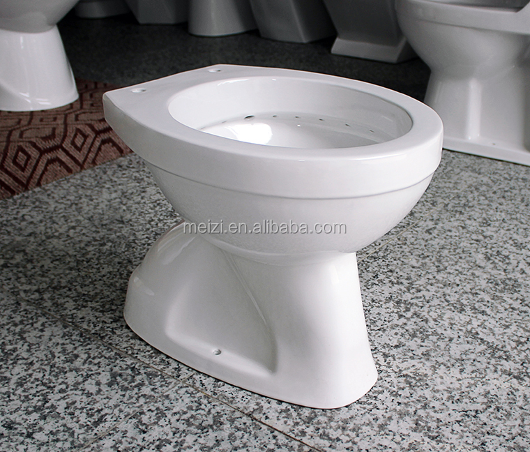 Ceramic shower toilet closetool for Africa
