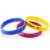 Silicone Wristband Manufacturer Design Your Own Cheap Personalized Custom Logo Silicone Wrist Band Bracelets