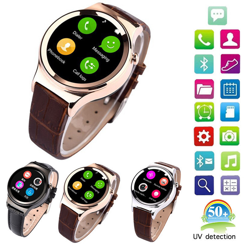 Music player 1.22 inch Sync Email fashion 1.54-inch women wrist watch