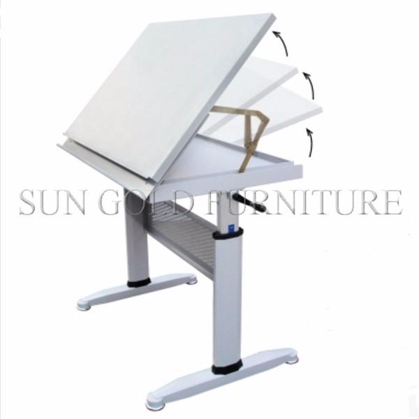 Drafting Drawing Table Adjustable Height Desk Designer Desk (SZ ODE06)